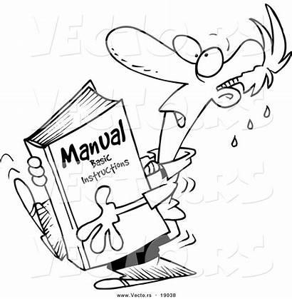 Manual Cartoon Tax Indian Instructions Coloring Heavy