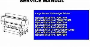 Epson Stylus Pro 7900 Service Manual