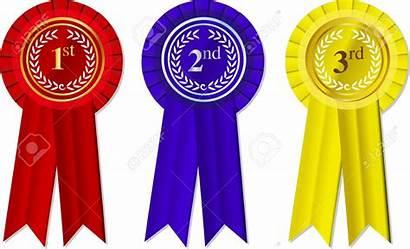 2nd 1st Place 3rd Ribbons Rosettes Ribbon