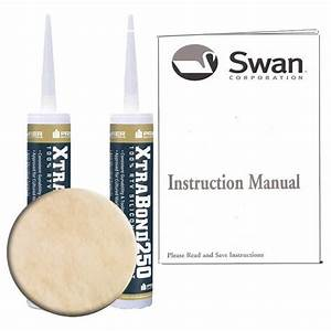 Swanstone Ss-72-128 Tub Wall Installation Kit