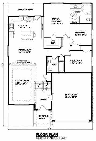 Bungalow Plans Floor Plan Canada Raised Custom
