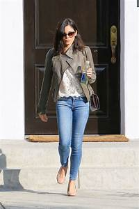Jenna Dewan In Jeans Leaving A House In Beverly Hills