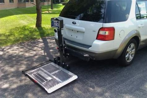 light lifting  electric wheelchair carriers