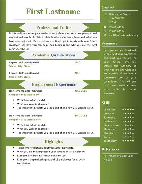Download Resume Template Word 2010  Gantt Chart Excel