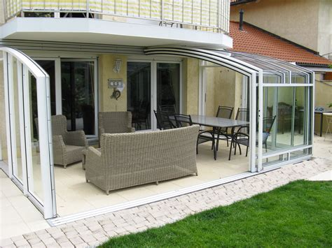 retractable patio enclosure   home patio