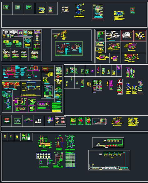Hvac Drawing In Autocad by Autocad Details For Hvac Equipment Free Dwg