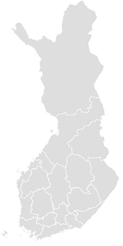finland blank map maker printable outline blank map
