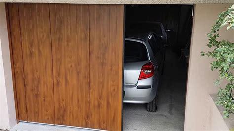 porte de garage laterale 23 cor 233 nov porte de garage sectionnelle lat 233 rale en fermeture