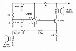 audio amplifier circuit page 32 audio circuits nextgr With low power circuit