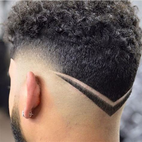 designs in hair the v shaped haircut