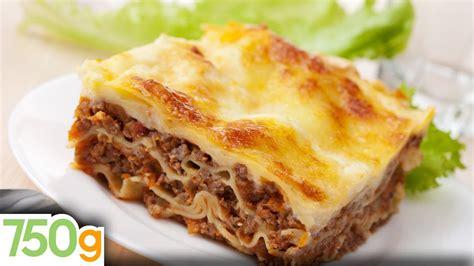 cuisiner des lasagnes recettes de lasagne bolognaise maison lasagna