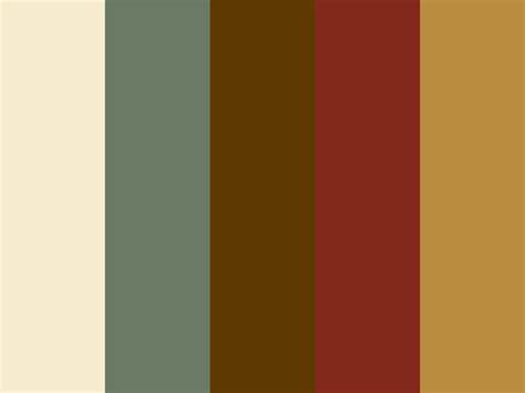 rustic color quot western rustic quot color scheme home