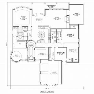 4 bedroom one story house plans marceladickcom With home design for single bedroom