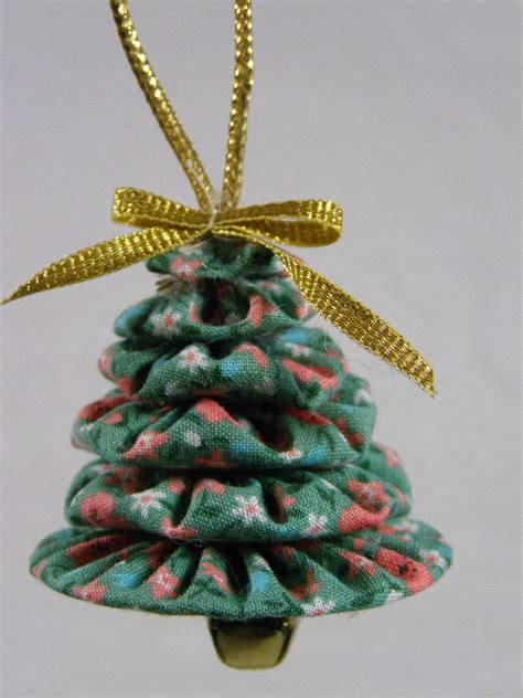 Magicforest Tree Sewing Set tree yo yo ornaments set of 3 teal calico prints