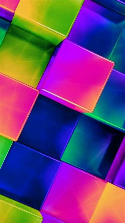 Crazy Backgrounds Colorful Shapes Paper Wallpapers