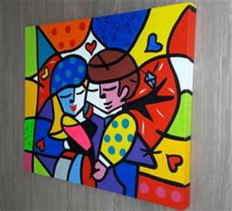 quadro tela painel casal romero britto r 580 00 no mercadolivre www roagria br