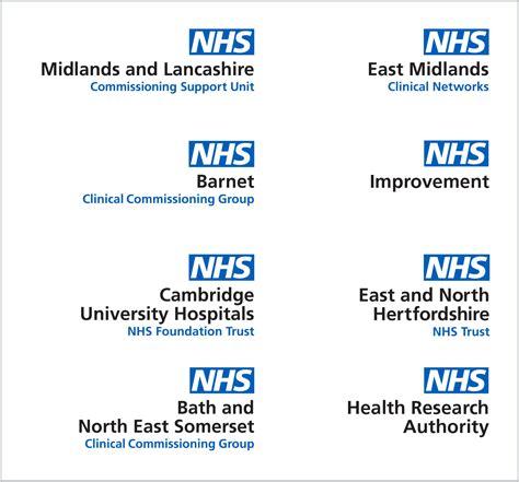 nhs identity guidelines organisational logos