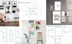 Viele Bilder Aufhängen : der gro e hanging guide wie erstelle ich eine tolle ~ Lizthompson.info Haus und Dekorationen