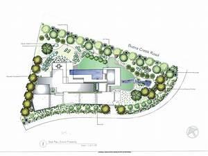 Concept and rendered plans allee landscape design