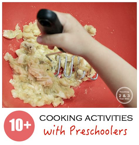 cooking with recipes from teaching 2 and 3 year olds 906 | cooking with kids recipes