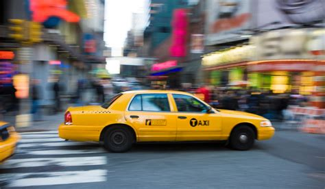 New York City Taxi Cab, Size