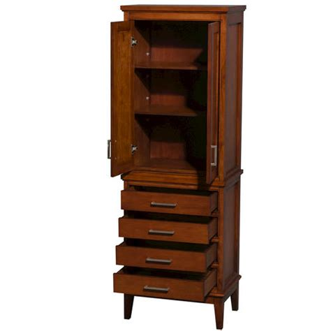 bathroom linen tower with drawers wyndham collection hatton linen tower with shelved cabinet