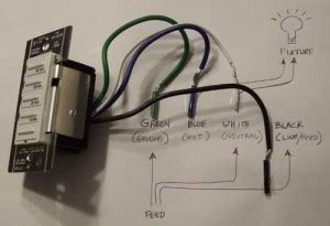install leviton  electronic timer switch