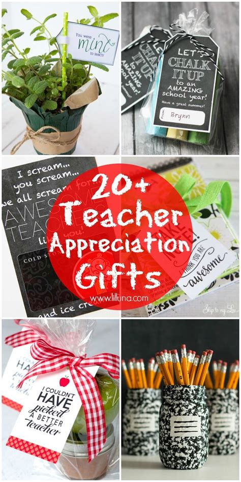 teacher appreciation gifts teacher gifts