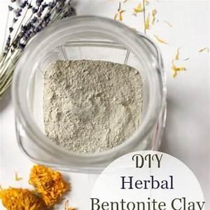 Diy Herbal Bentonite Clay Face Mask And Scrub