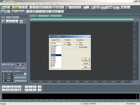 How To Record Vocal In Adobe Audition Youtube