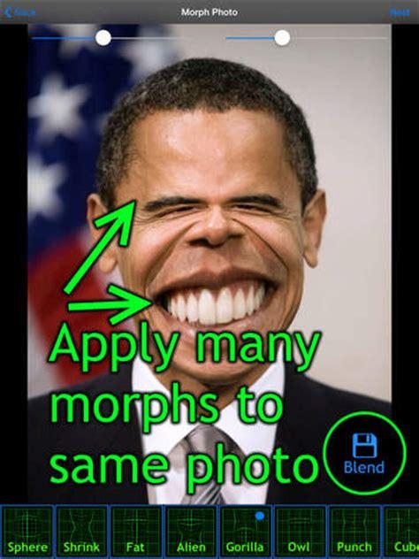 funny face maker booth shrink morph  edit faces
