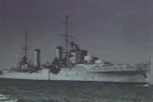 The HMAS Perth during World War II (TV STILL) - ABC News ...