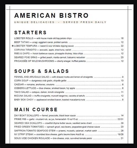 sample menu card template    psd  word