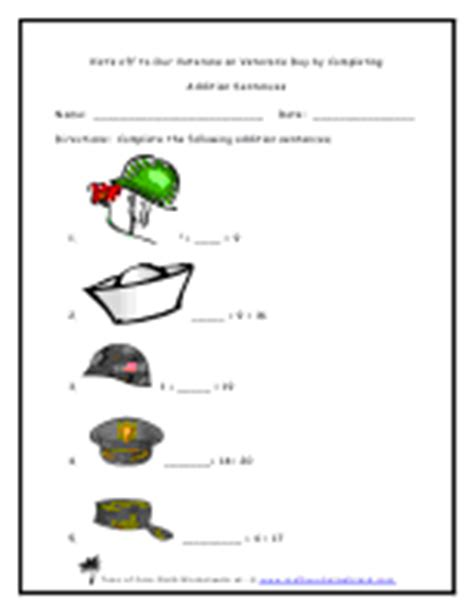 search results for veterans day math worksheets