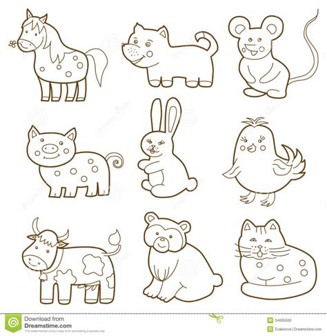 coloring pages fun animal coloring book animal