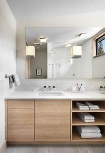 Etagere Sous Lavabo : meuble sous lavabo salle de bain dot d tag res ouvertes 15 mod les contemporains salle de ~ Teatrodelosmanantiales.com Idées de Décoration