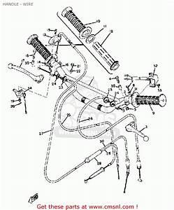 Yamaha Ct1 1969 Usa Handle - Wire