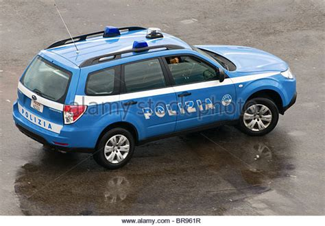 Italian Police Car Stock Photos & Italian Police Car Stock