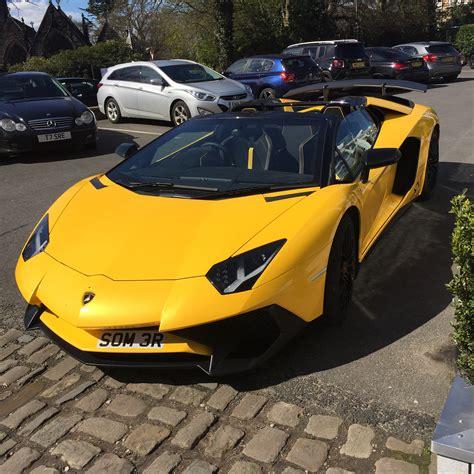 lamborghini aventador sv roadster price uk lamborghini aventador sv roadster spotted in alderly edge cheshire uk