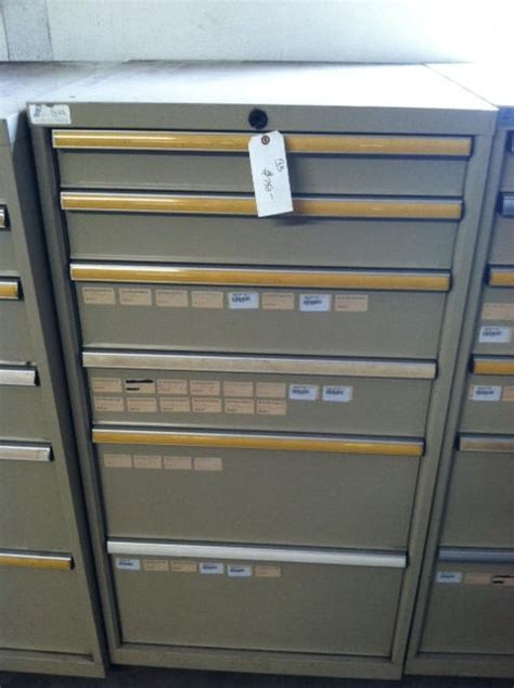 new used modular drawer cabinets stanley vidmar stor