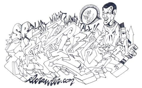 de graffitis para colorear grafitis para colorear imagui