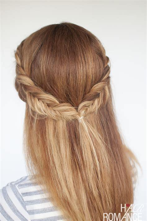 Reverse fishtail braid tutorial   two ways