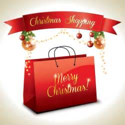 christmas shopping vector graphic shopping bag winter