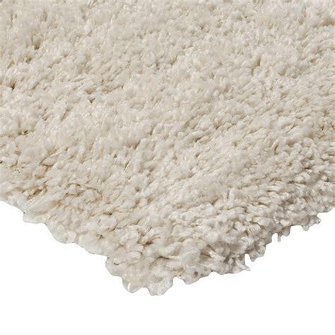 tapis shaggy moderne blanc 120x170cm monbeautapis com