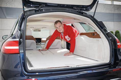 mercedes a klasse kofferraum maße sitzprobe im neuen edel kombi e klasse t modell s213