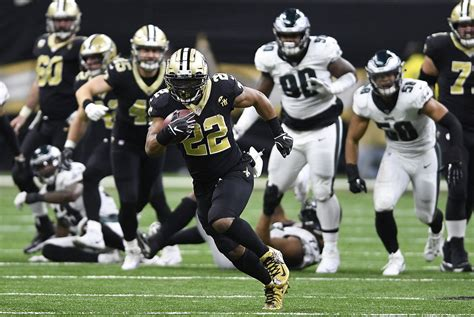 saints rally  beat eagles  host nfc title game