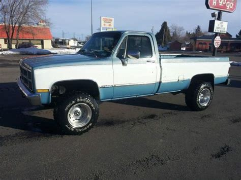 Purchase Used Wow 1983 Chevy Truck Dana 60 In Blackfoot
