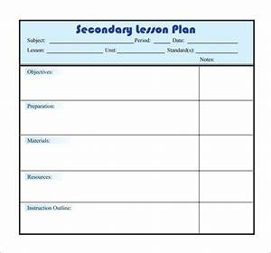 sample lesson plan 9 documents in pdf word With daily lesson plan template word document