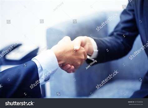 13921 business meeting handshake business meeting handshake stock photo 327608006