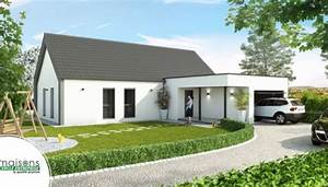 maison contemporaine modeles et plans cercle enteprise With marvelous maison toit plat en l 4 maison neuve contemporaine toit plat